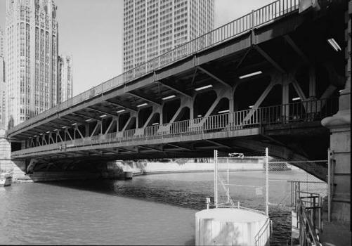 Michigan Avenue Bridge, Chicago. (HAER, ILL, 16-CHIG, 129-3)