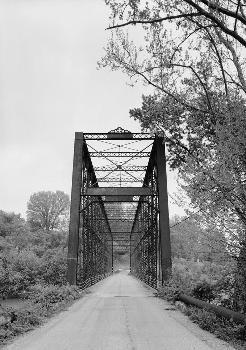 Laughery Creek Bridge, Spanning Laughery Creek, Aurora vicinity, Dearborn County, IN (HAER, IND,15-AUR.V,1-8)