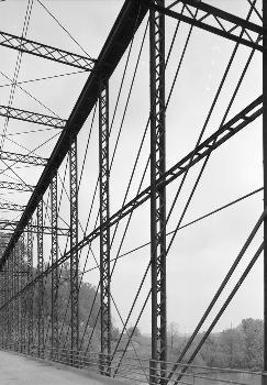 Laughery Creek Bridge, Spanning Laughery Creek, Aurora vicinity, Dearborn County, IN (HAER, IND,15-AUR.V,1-9)