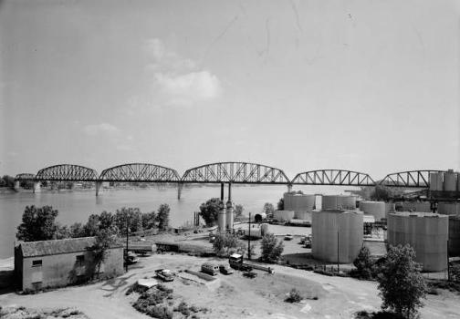 Big Four Bridge, Louisville, Kentucky (HAER, KY,56-LOUVI,71-1)