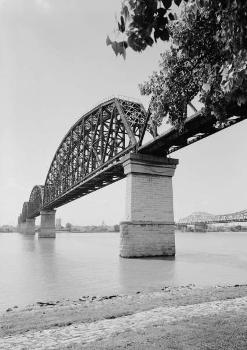 Big Four Bridge, Louisville, Kentucky (HAER, KY,56-LOUVI,71-3)