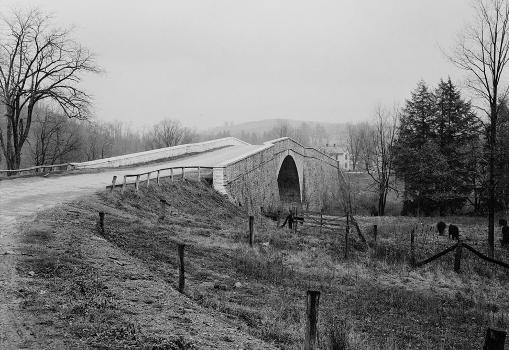 Casselman River Bridge  (HABS, MD,12-GRANT.V,1-2)