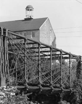 Bollman Truss Bridge. (HAER, MD,14-SAV,1-;DLC/PP-99:MD-26)