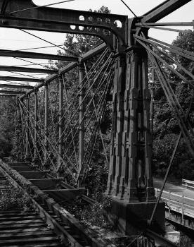 Bollman Truss Bridge. (HAER, MD,14-SAV,1-;DLC/PP-99:MD-27)