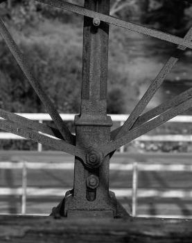 Bollman Truss Bridge. (HAER, MD,14-SAV,1-;DLC/PP-99:MD-29)
