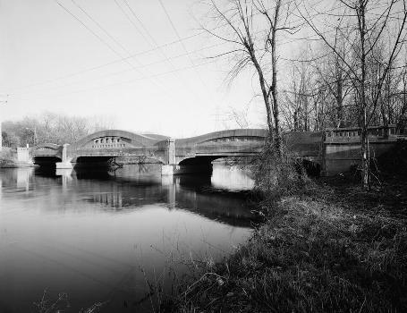 Mosel Avenue Bridge, Kalamazoo, Michigan, USA (HAER, MICH,39-KALAM,2-1)