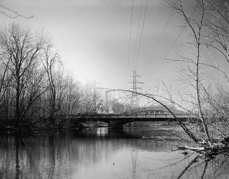 Mosel Avenue Bridge, Kalamazoo, Michigan, USA (HAER, MICH,39-KALAM,2-2)