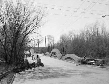Mosel Avenue Bridge, Kalamazoo, Michigan, USA (HAER, MICH,39-KALAM,2-3)