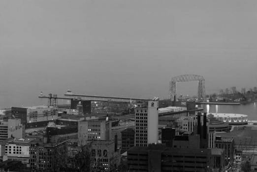 Aerial Lift Bridge   (HAER, MINN,69-DULU,9-2)