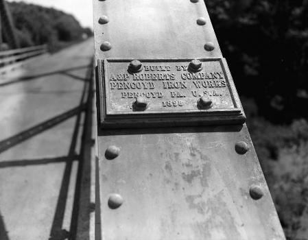 Waddell «A» Truss Bridge, Trimble, Missouri (HAER MO,25-TRIM.V,1-2)