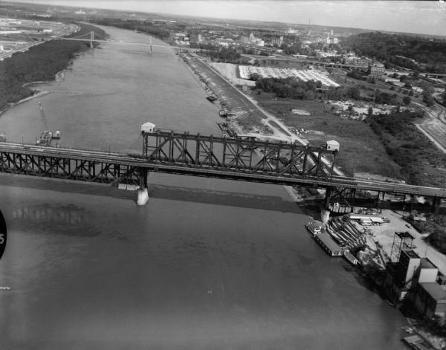 Armour, Swift, Burlington Bridge, Kansas City. (HAER, MO,48-KANCI,16-7)