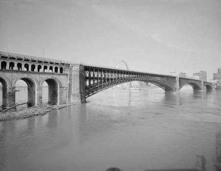 Eads Bridge, Saint Louis (HAER, MO,96-SALU,77-1)