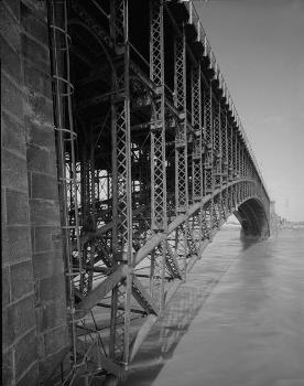 Eads Bridge, Saint Louis (HAER, MO,96-SALU,77-10)