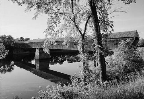 Cornish-Windsor Covered Bridge. (HAER, NH,10-CORN,2-2)