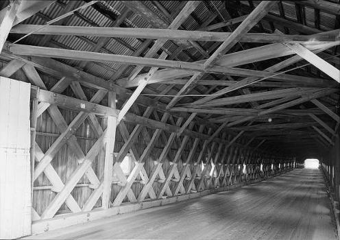 Cornish-Windsor Covered Bridge. (HAER, NH,10-CORN,2-10)