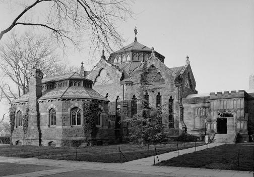 Princeton University Library (Chancellor Green) (HABS NJ,11-PRINT,4D-1)