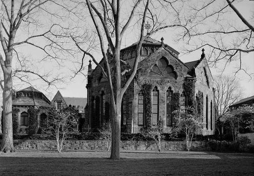 Princeton University Library (Chancellor Green) (HABS NJ,11-PRINT,4D-2)