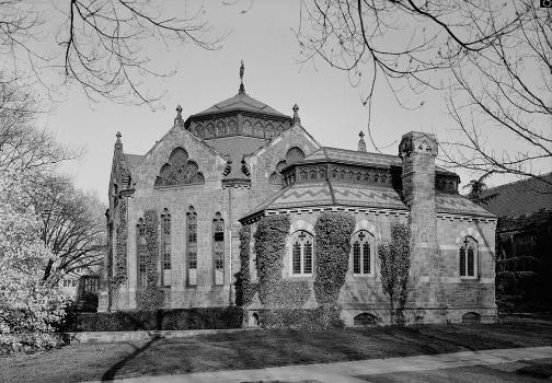 Princeton University Library (Chancellor Green) (HABS NJ,11-PRINT,4D-3)
