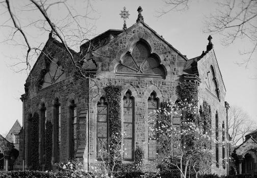 Princeton University Library (Chancellor Green) (HABS NJ,11-PRINT,4D-4)