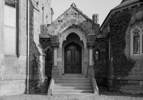 Princeton University Library (Chancellor Green) (HABS NJ,11-PRINT,4D-6)