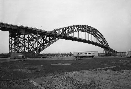 Bayonne Bridge. General view looking southeast.   (HAER, NJ,9-BAYO,1-2)