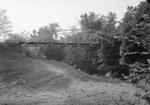 Whipple Cast & Wrought Iron Bowstring Truss Bridge, Normans Kill Vicinity, Albany, Albany County, NY (HAER, NY,1-ALB,19-1)