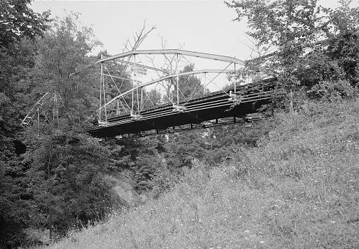 Whipple Cast & Wrought Iron Bowstring Truss Bridge, Normans Kill Vicinity, Albany, Albany County, NY (HAER, NY,1-ALB,19-2)