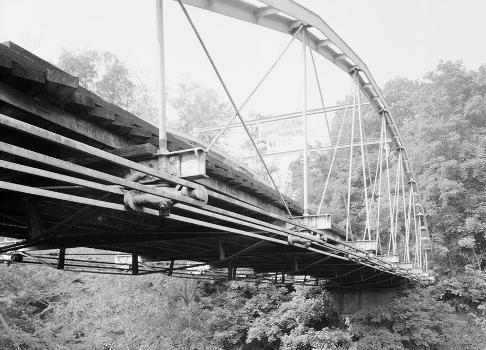 Whipple Cast & Wrought Iron Bowstring Truss Bridge, Normans Kill Vicinity, Albany, Albany County, NY (HAER, NY,1-ALB,19-3)