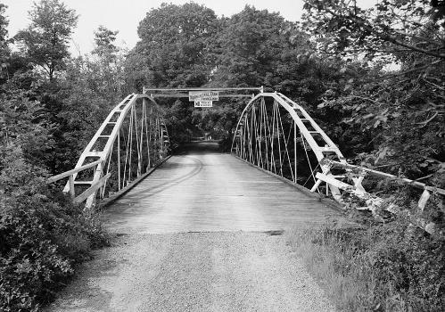 Whipple Cast & Wrought Iron Bowstring Truss Bridge, Normans Kill Vicinity, Albany, Albany County, NY (HAER, NY,1-ALB,19-4)