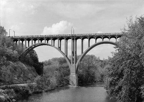 Brecksville-Northfield High Level Bridge, Ohio.