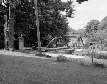 White Bowstring Arch Truss Bridge. (HAER, OHIO,50-POL,2-1)