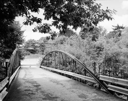 White Bowstring Arch Truss Bridge. (HAER, OHIO,50-POL,2-3)