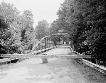 White Bowstring Arch Truss Bridge. (HAER, OHIO,50-POL,2-4)