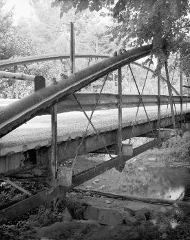White Bowstring Arch Truss Bridge. (HAER, OHIO,50-POL,2-5)