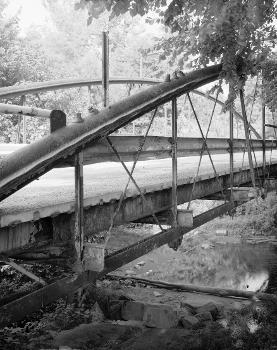 White Bowstring Arch Truss Bridge. (HAER, OHIO,50-POL,2-6)