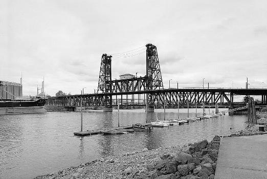 Steel Bridge, Portland, Oregon. (HAER, ORE,26-PORT,14-1)