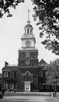 Independence Hall, Philadelphia, Pennsylvania, USA (aus der Sammlung des Historic American Engineering Record)