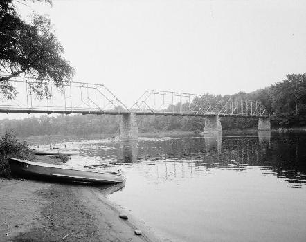 Dingmans Ferry Bridge, Pike County, Pennsylvanie.