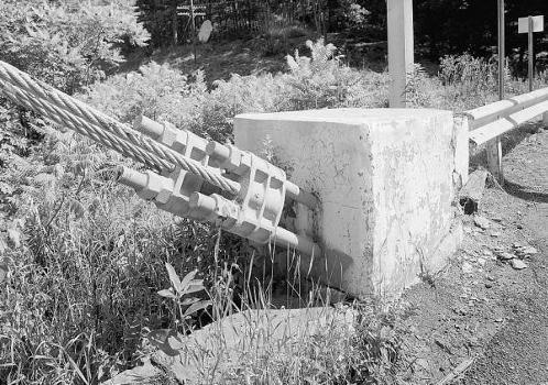 Lackawaxen Suspension Bridge. (HAER, PA,52-LACK,1-53)