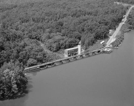 Secession Lake Dame, Abbeville, South Carolina, USA (HAER, SC,1-ROCRI,1-1)