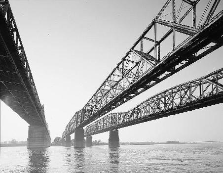 Memphis Bridge, Memphis, Tennessee (HAER, TENN,79-MEMPH,19-1)