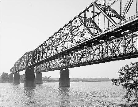Memphis Bridge, Memphis, Tennessee (HAER, TENN,79-MEMPH,19-2)