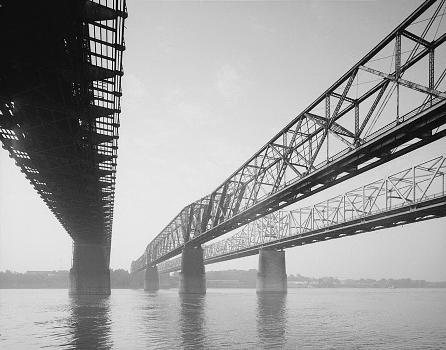 Memphis Bridge, Memphis, Tennessee (HAER, TENN,79-MEMPH,19-5)