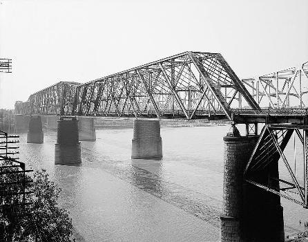 Memphis Bridge, Memphis, Tennessee (HAER, TENN,79-MEMPH,19-6)