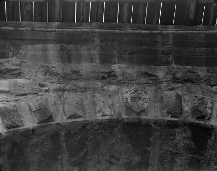 Benwood Bridge : Baltimore & Ohio Railroad, Benwood Bridge, Benwood, Marshall County, WV  (HAER, WVA,26-BEN,1-7)