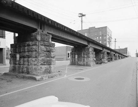 Baltimore & Ohio Railroad Bridge, Parkersburg, West Virginia (HAER, WVA,54-PARK,2-5)
