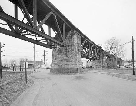 Baltimore & Ohio Railroad Bridge, Parkersburg, West Virginia (HAER, WVA,54-PARK,2-7)