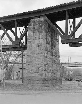 Baltimore & Ohio Railroad Bridge, Parkersburg, West Virginia (HAER, WVA,54-PARK,2-8)