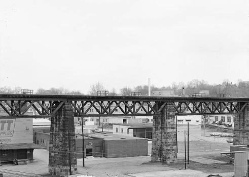 Baltimore & Ohio Railroad Bridge, Parkersburg, West Virginia (HAER, WVA,54-PARK,2-9)