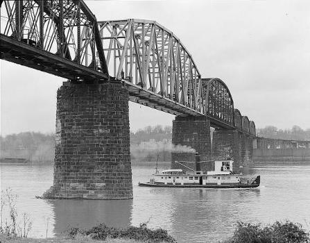 Baltimore & Ohio Railroad Bridge, Parkersburg, West Virginia (HAER, WVA,54-PARK,2-11)